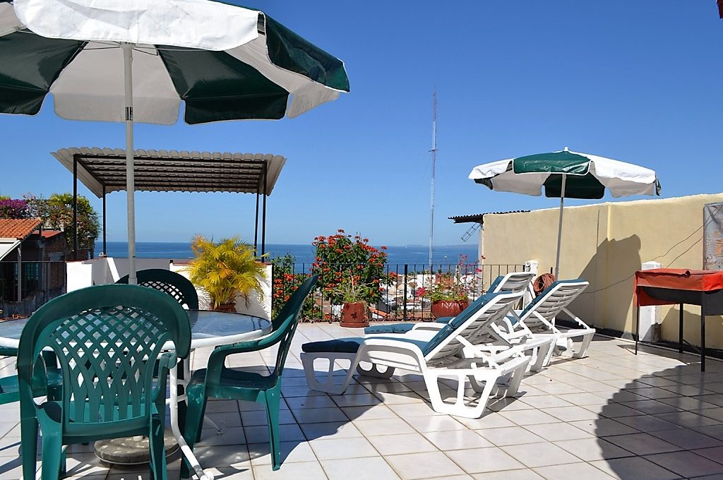 Apartment Victoria Puerto Vallarta Common Rooftop Terrace 10