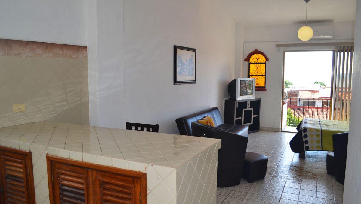Studio Cortez - Puerto Vallarta Sudio For Rent (1)