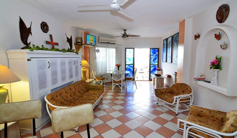 Condo Villa Santa Barbara 5 - 1 BD 1BA AMAPAS ALMAR RESORT LOS MUERTOS BEACH LONG TERM RENTAL PUERTO VALLARTA (11)