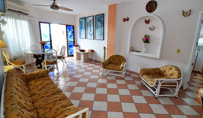 Condo Villa Santa Barbara 5 - 1 BD 1BA AMAPAS ALMAR RESORT LOS MUERTOS BEACH LONG TERM RENTAL PUERTO VALLARTA (15)