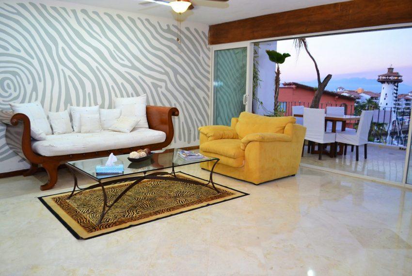Condo Las Palmas Penthouse - Marina Vallarta Long Term Rental (11)