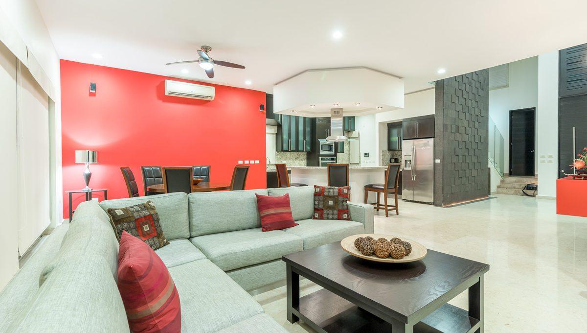 Casa-Paseo-de-las-Mariposas-121-El-Tigre-Golf-Course-Nuevo-Vallarta-Mexico-Puerto Vallarta Long Term Furnished House For Rent (4)