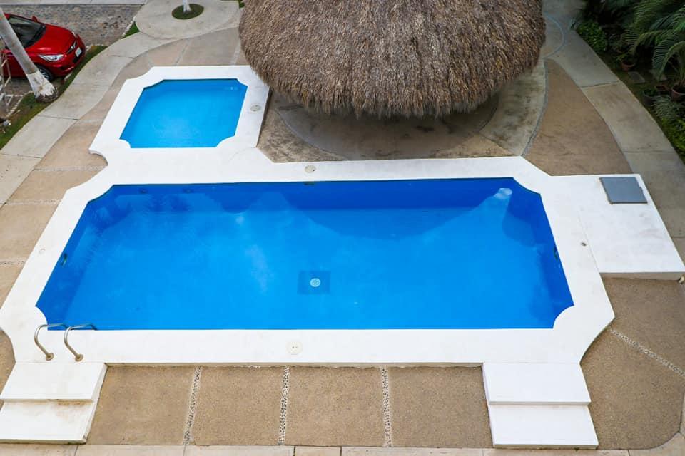Guacamayo Pool and Palapa View