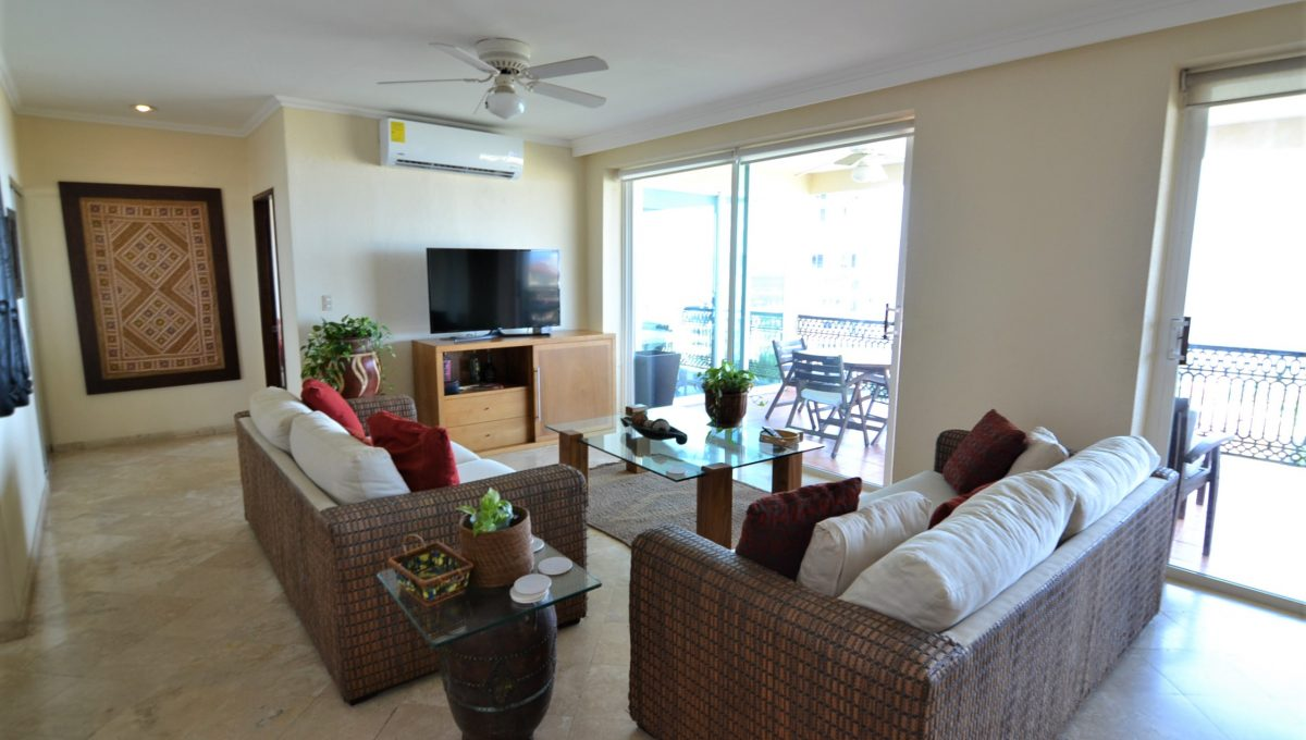 Condo Caracoles 1005 3 bd 3ba - Marina Vallarta Puerto Vallarta Long Term Rental (2)