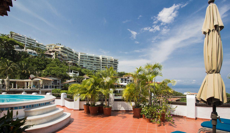 Villa Santa Barbara 404 - Common Areas For Rent Puerto Vallarta Vacation Rental (7)