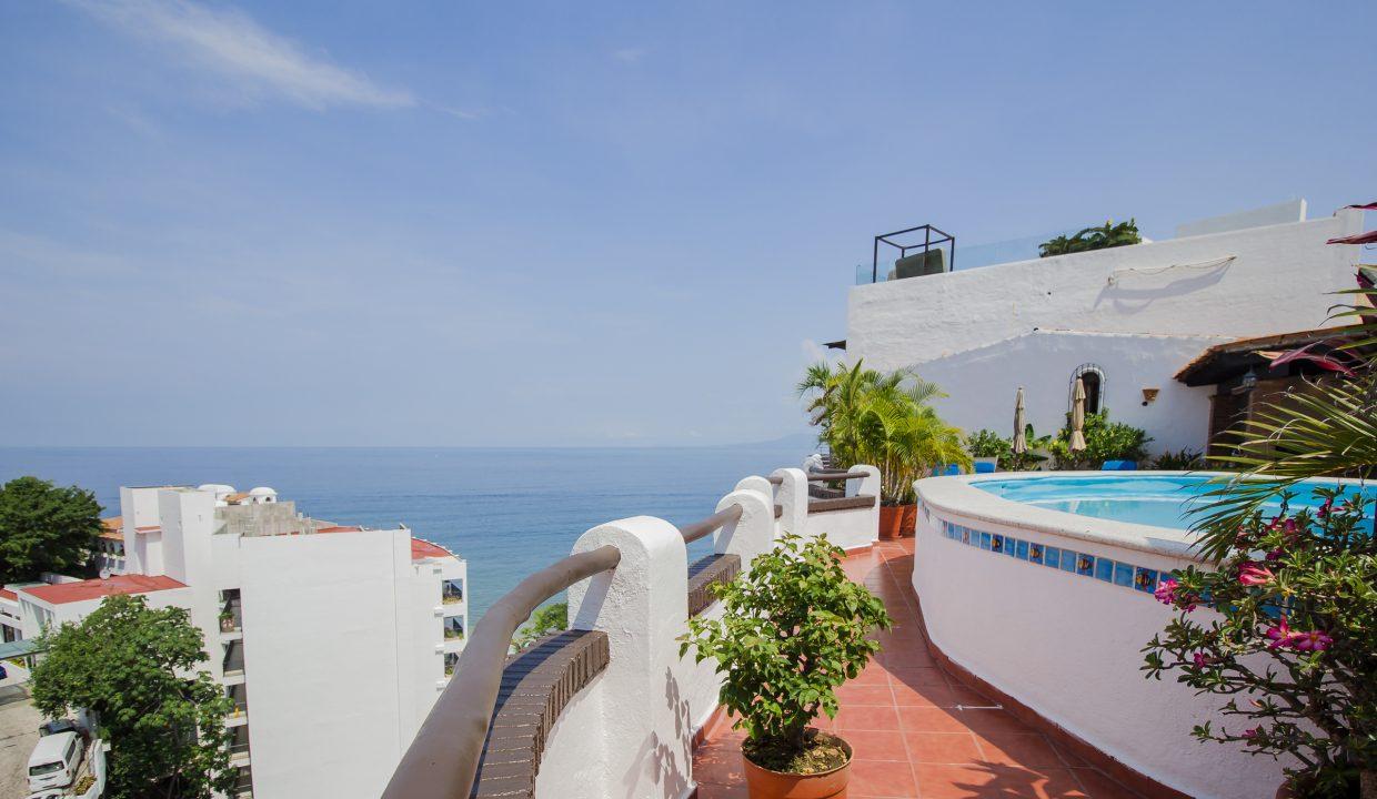 Villa Santa Barbara 404 - Common Areas For Rent Puerto Vallarta Vacation Rental (9)