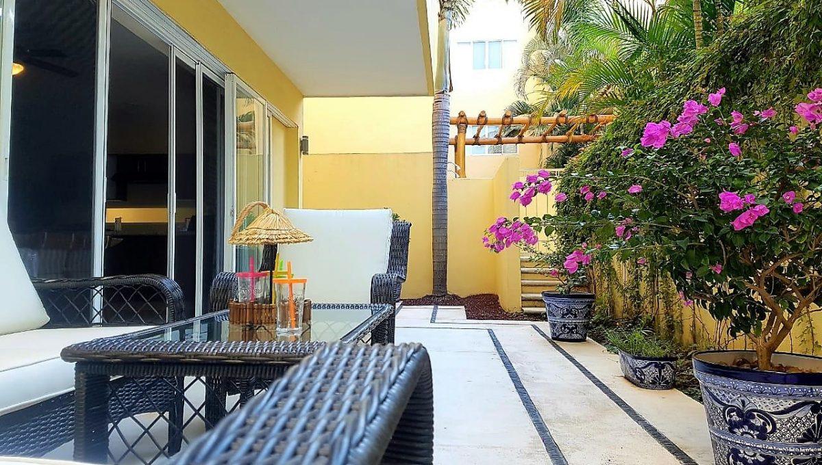 Condo Santa Fe 104 Groundfloor Nuevo Vallarta For Rent Long Term Furnished (1)