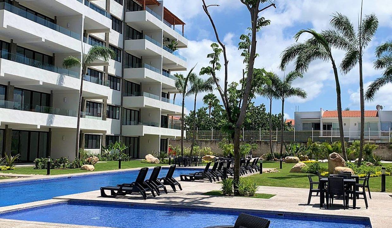 Condo Puertarena 2 BD 2BA For Rent Unfurnished Nuevo Vallarta Mexico (16)