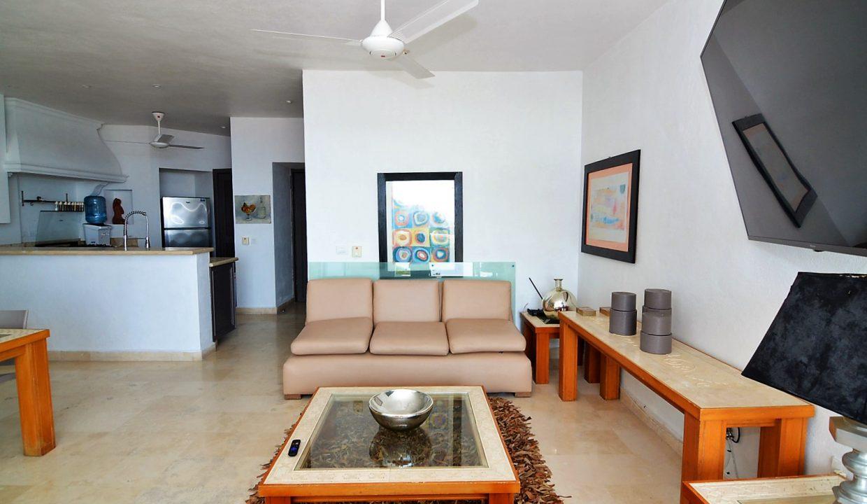 Condo Peñas de Teresa 401 - Amapas Puerto Vallarta Long Term Furnished Rental Vallarta Dream (16)