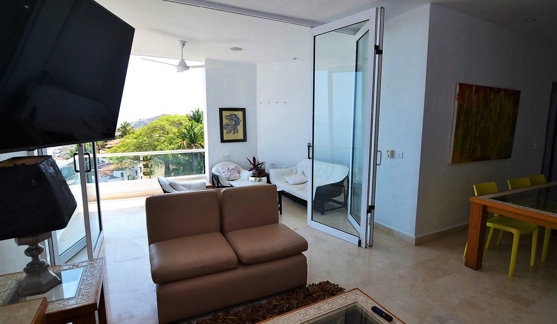 Condo Peñas de Teresa 401 - Amapas Puerto Vallarta Long Term Furnished Rental Vallarta Dream (18)