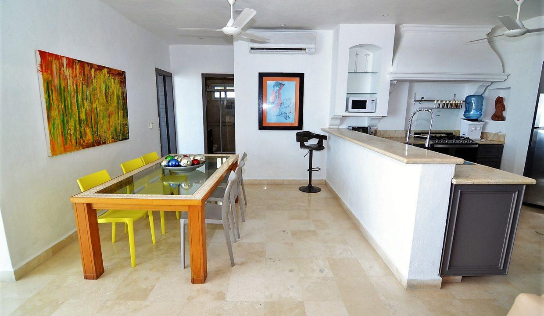 Condo Peñas de Teresa 401 - Amapas Puerto Vallarta Long Term Furnished Rental Vallarta Dream (19)
