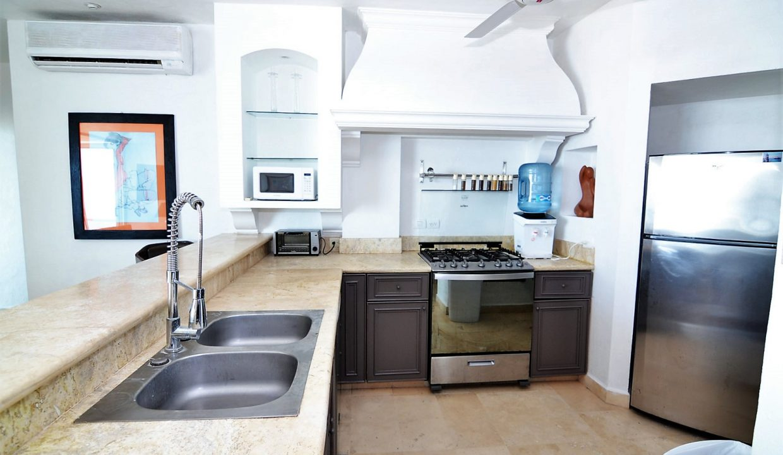 Condo Peñas de Teresa 401 - Amapas Puerto Vallarta Long Term Furnished Rental Vallarta Dream (2)