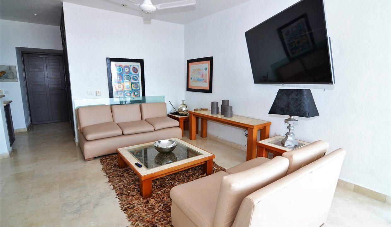Condo Peñas de Teresa 401 - Amapas Puerto Vallarta Long Term Furnished Rental Vallarta Dream (23)