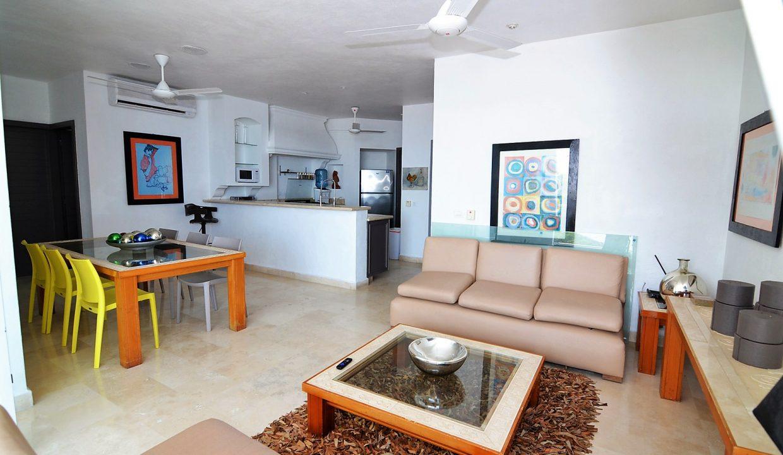 Condo Peñas de Teresa 401 - Amapas Puerto Vallarta Long Term Furnished Rental Vallarta Dream (24)