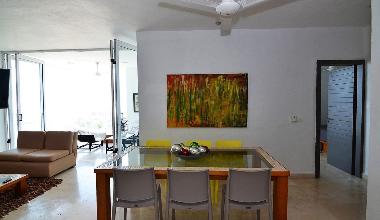Condo Peñas de Teresa 401 - Amapas Puerto Vallarta Long Term Furnished Rental Vallarta Dream (4)