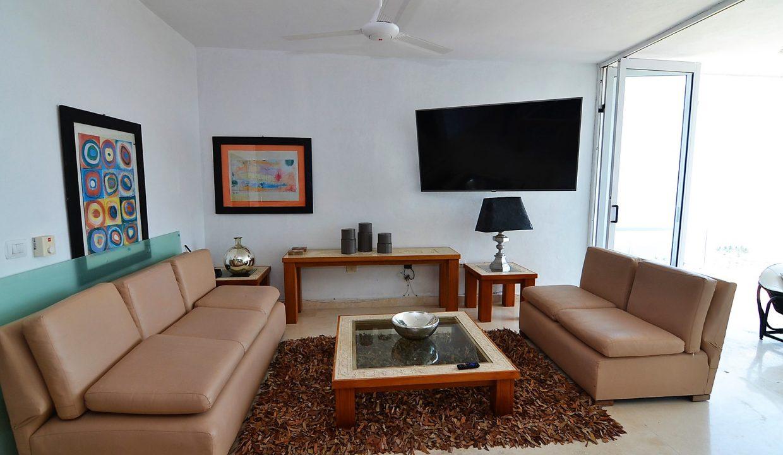 Condo Peñas de Teresa 401 - Amapas Puerto Vallarta Long Term Furnished Rental Vallarta Dream (5)