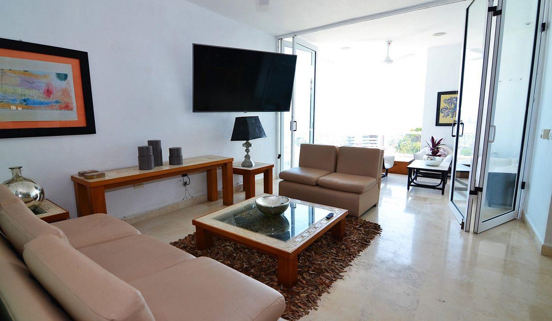 Condo Peñas de Teresa 401 - Amapas Puerto Vallarta Long Term Furnished Rental Vallarta Dream (6)