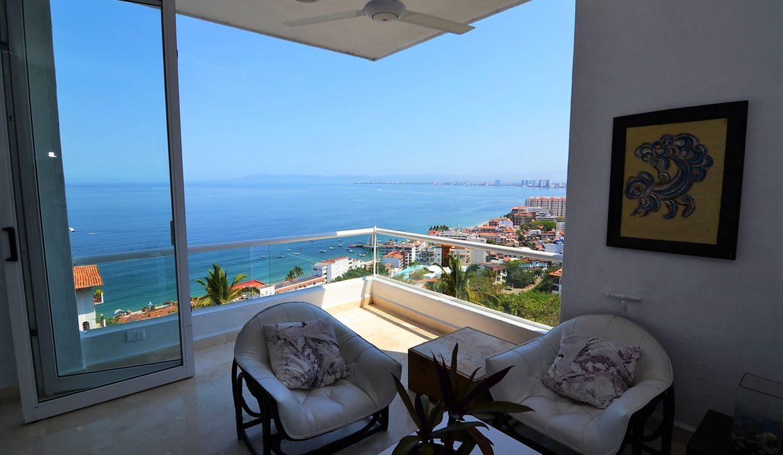 Condo Peñas de Teresa 401 - Amapas Puerto Vallarta Long Term Furnished Rental Vallarta Dream (8)