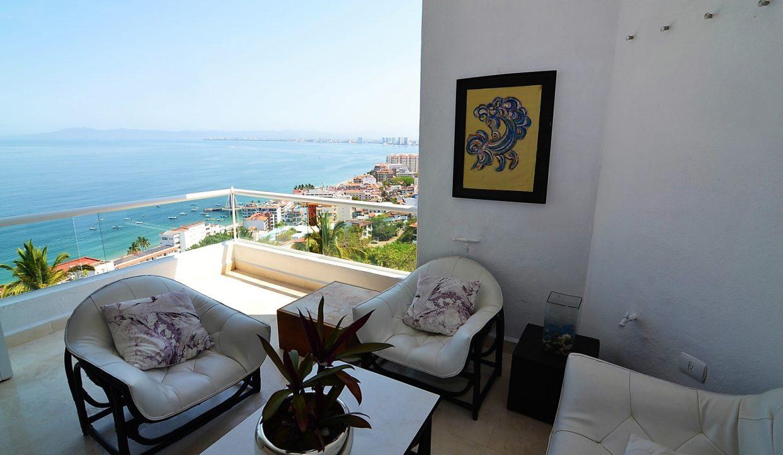 Condo Peñas de Teresa 401 - Amapas Puerto Vallarta Long Term Furnished Rental Vallarta Dream (9)