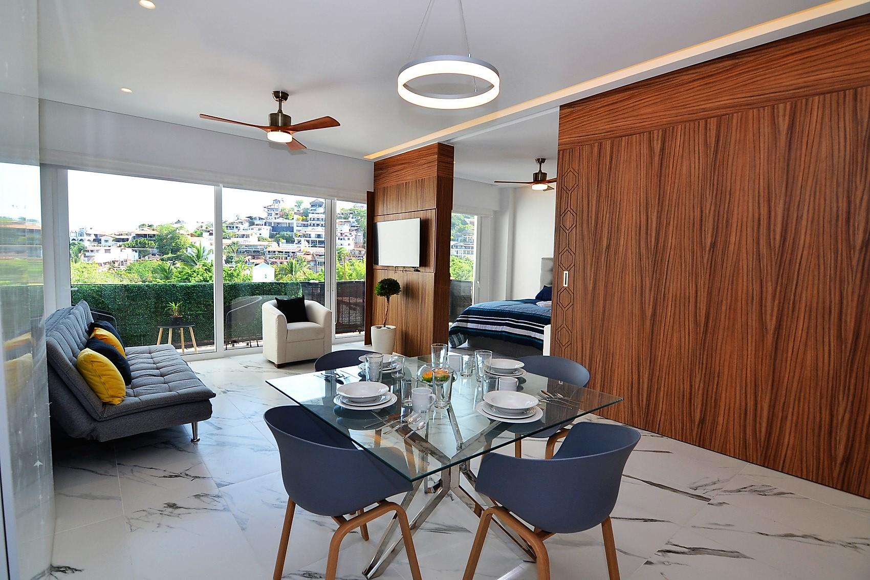 Condo Avida Super Studio 4 - Puerto Vallarta Furnished Condo Romantic Zone (1)