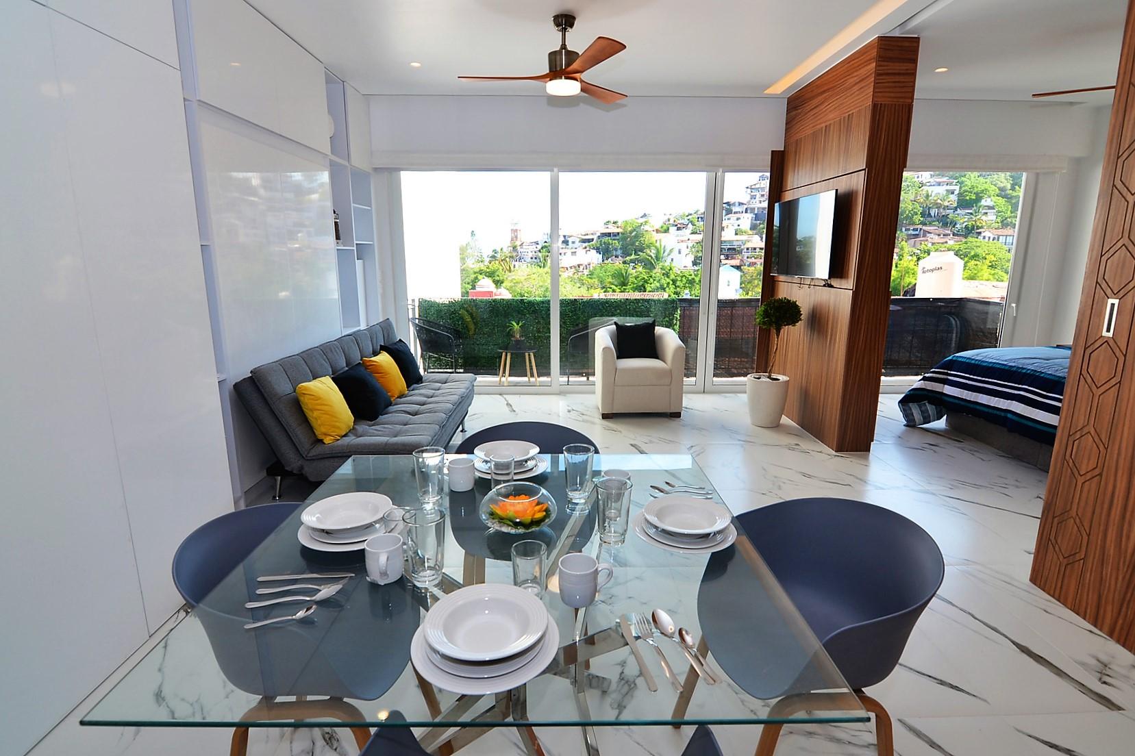 Condo Avida Super Studio 4 - Puerto Vallarta Furnished Condo Romantic Zone (2)