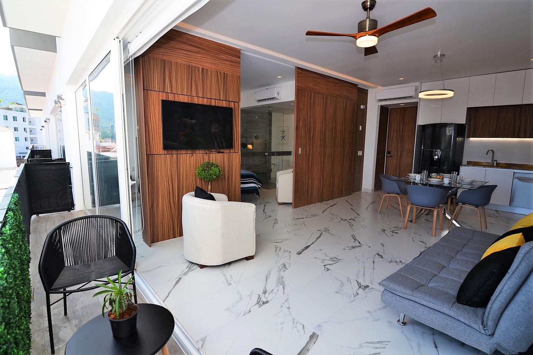 Condo Avida Super Studio 4 - Puerto Vallarta Furnished Condo Romantic Zone (52)